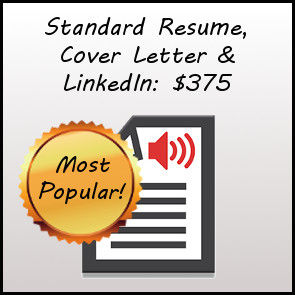 Standard Resume, Cover Letter, and LinkedIn