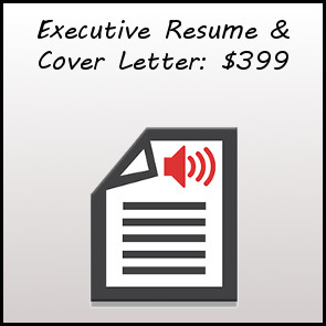 Executive Resume and Cover Letter